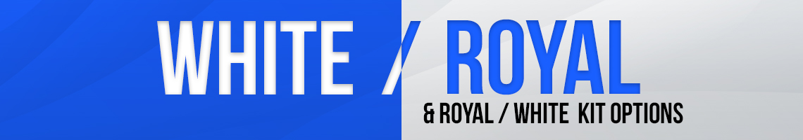 White/Royal Banner
